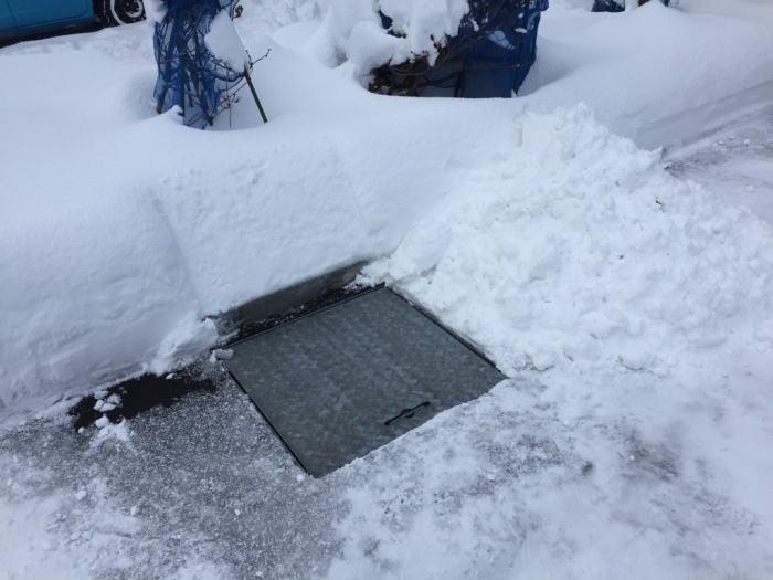 東区O様邸融雪槽その1